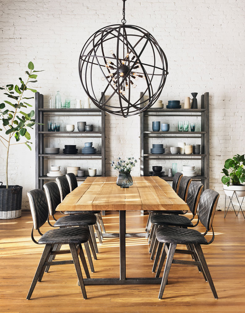 Light Rustic Dining Table