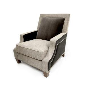 Gentil Brady Chair U2013 Two Tone Fabric